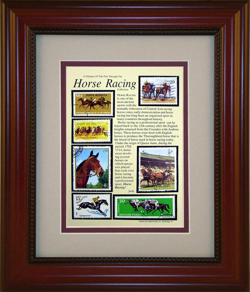 Horse Racing - Unique Framed Gift