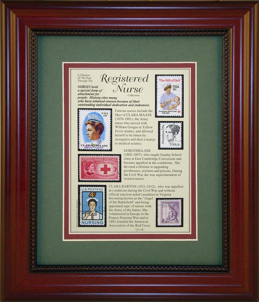 Registered Nurse - Unique Framed Gift