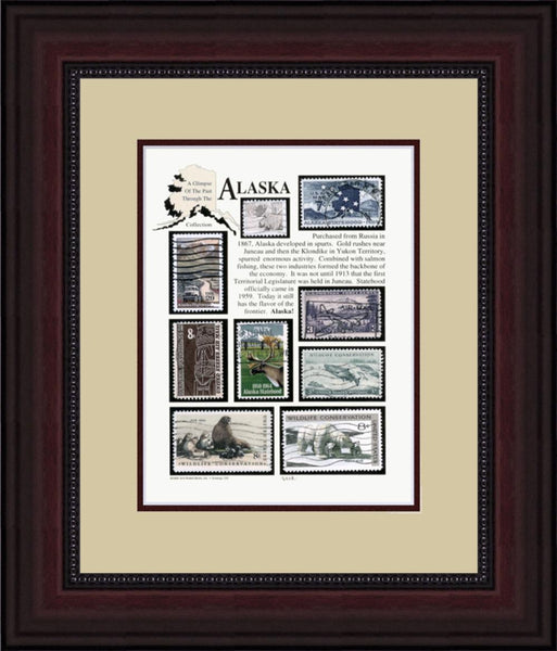 ALASKA - Unique Framed Gift