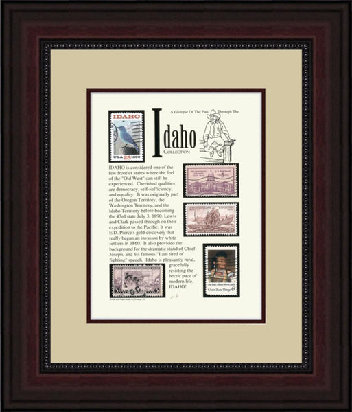 IDAHO - Unique Framed Gift
