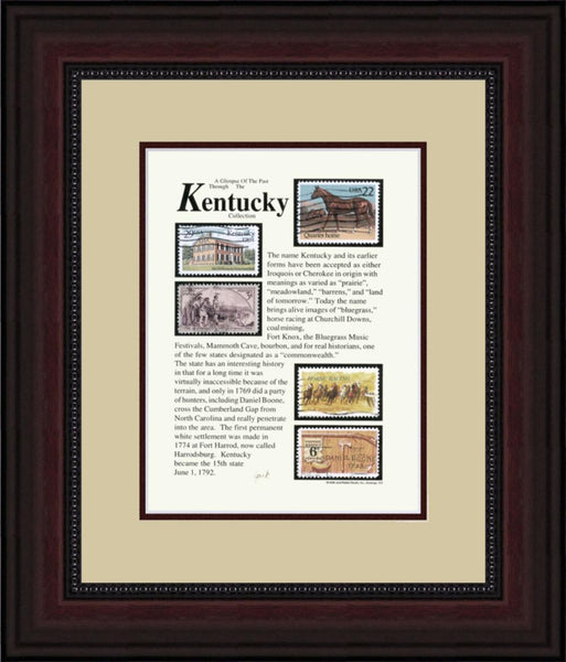 KENTUCKY - Unique Framed Gift