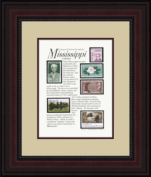 MISSISSIPPI - Unique Framed Gift