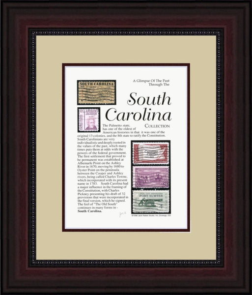 SOUTH CAROLINA - Unique Framed Gift