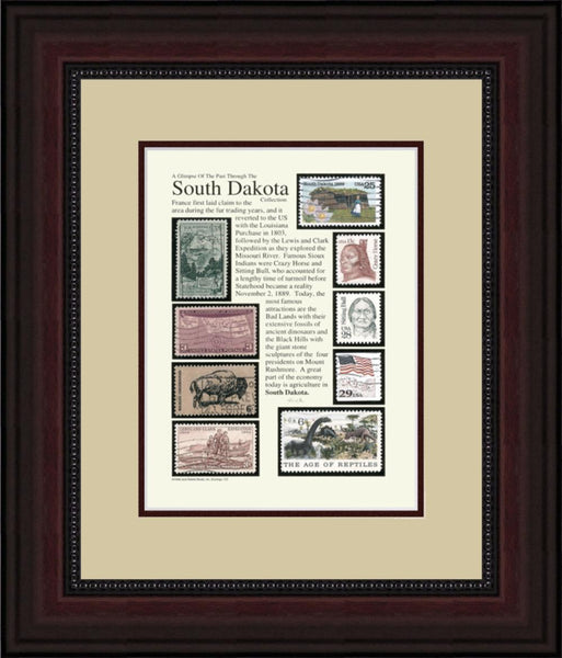 SOUTH DAKOTA - Unique Framed Gift