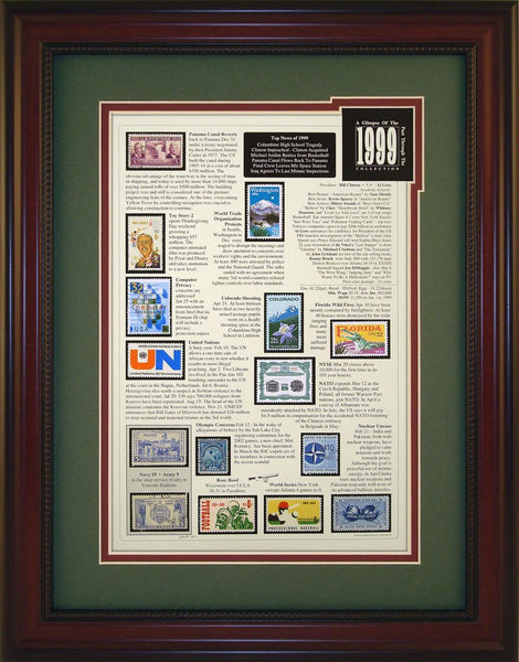 Year 1999 - Unique Framed Gift