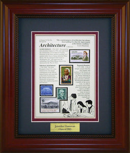 Architecture - Personalized Unique Framed Gift