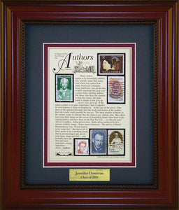Author - Personalized Unique Framed Gift
