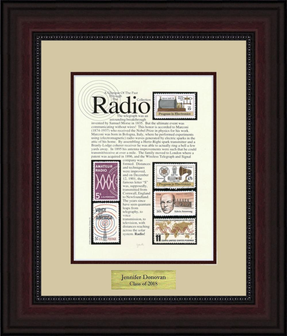 Radio - Personalized Unique Framed Gift