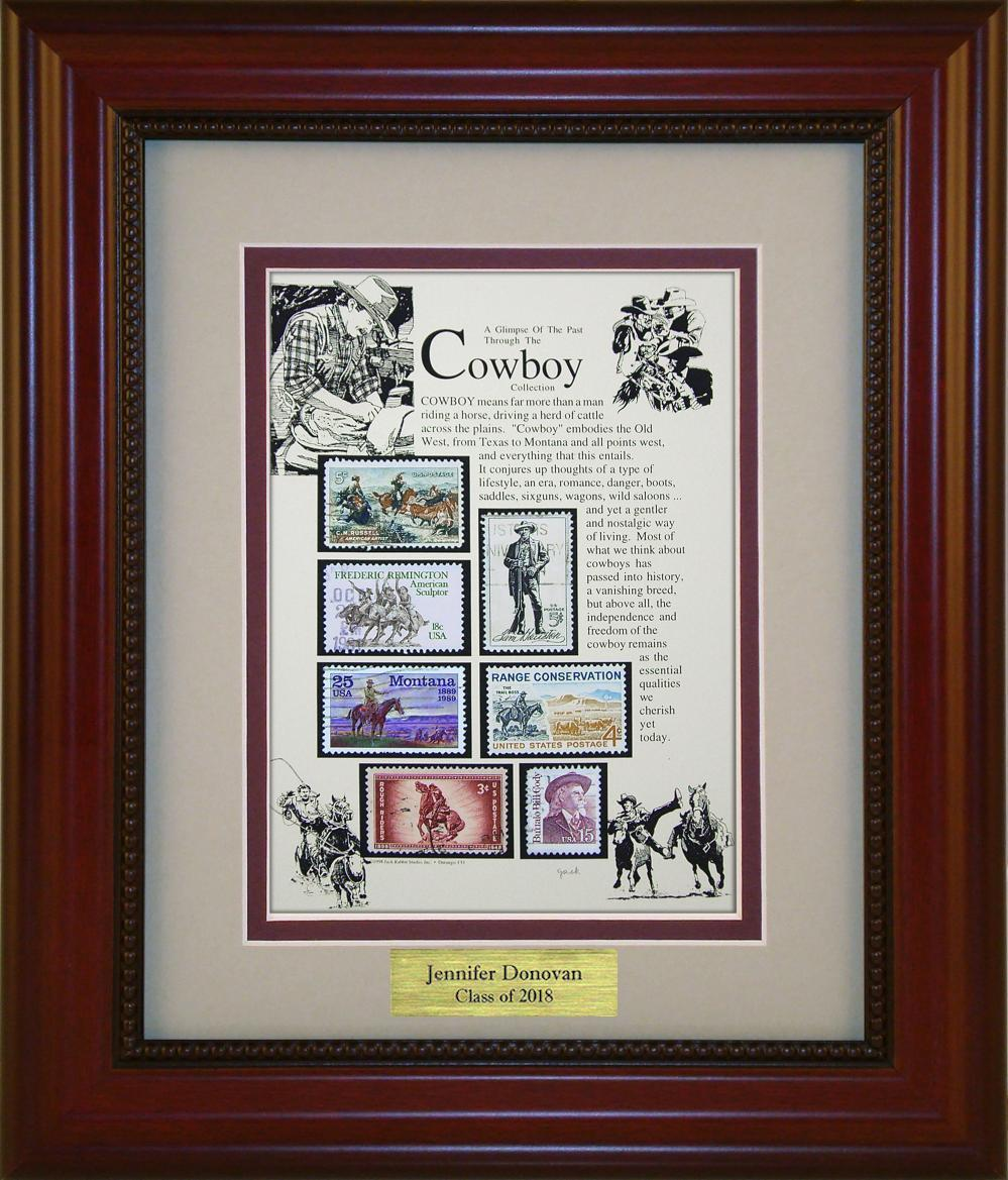 Cowboy - Personalized Unique Framed Gift