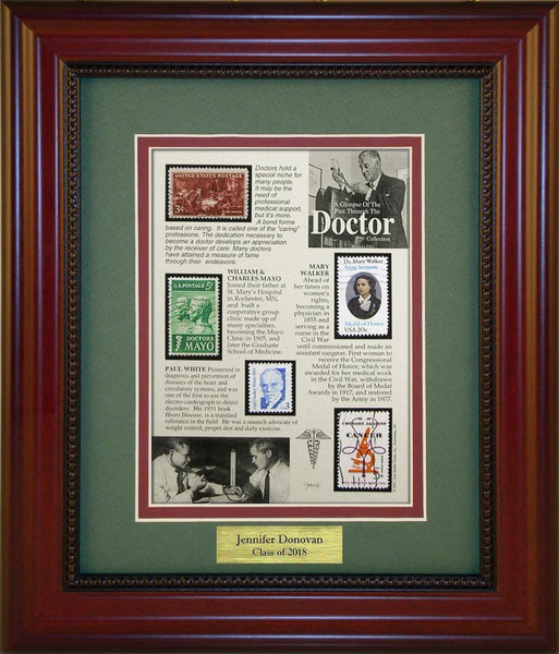 Doctors  - Personalized Unique Framed Gift