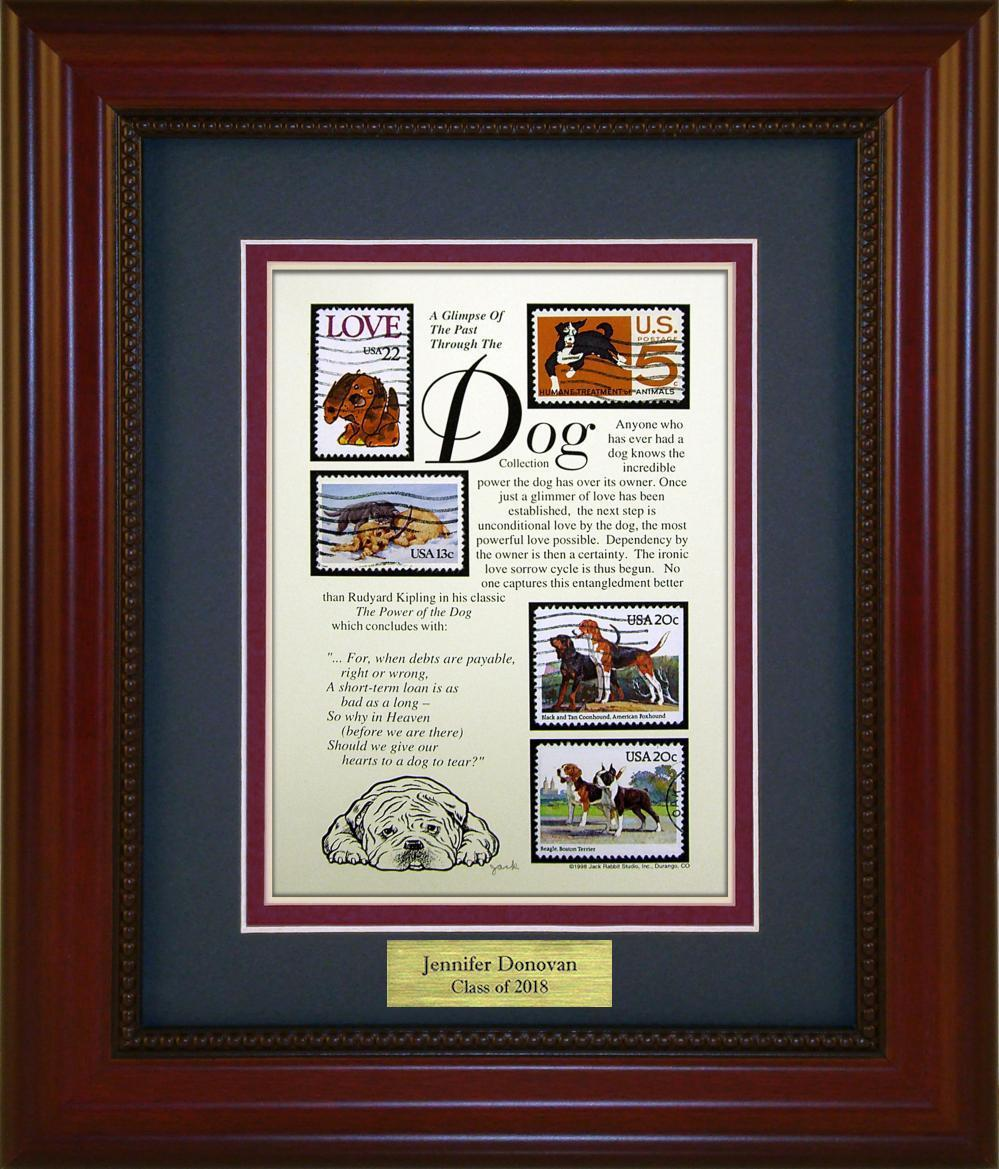 Dogs - Personalized Unique Framed Gift