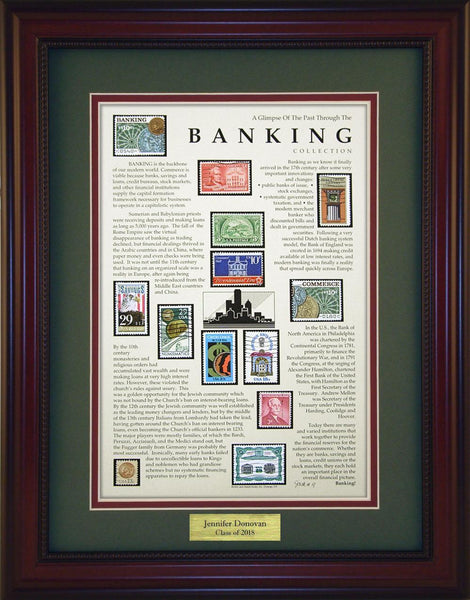 Banking - Personalized Unique Framed Gift