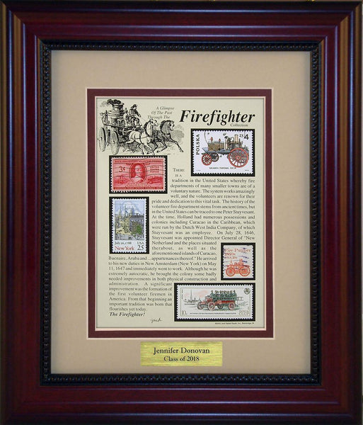 Firefighter - Personalized Unique Framed Gift