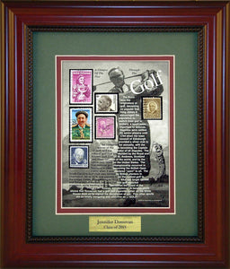 Golf - Personalized Unique Framed Gift
