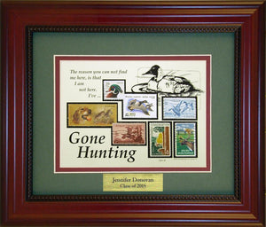 Hunting - Personalized Unique Framed Gift