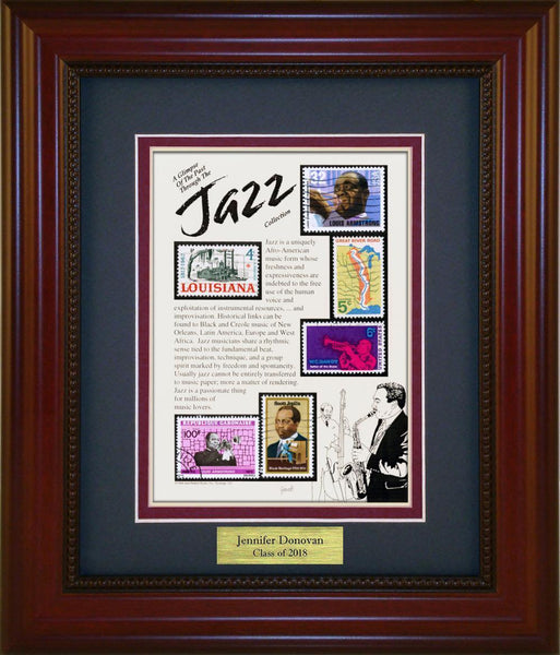 Jazz - Personalized Unique Framed Gift