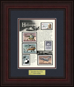 Helicopters - Personalized Unique Framed Gift