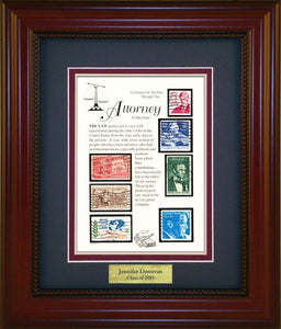 Attorney - Personalized Unique Framed Gift