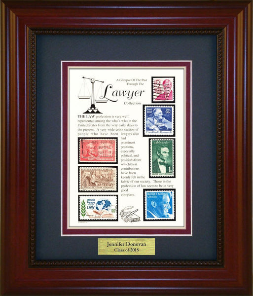 Lawyer - Personalized Unique Framed Gift
