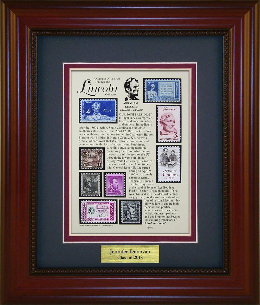Abraham Lincoln  - Personalized Unique Framed Gift