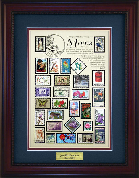 Moms - Personalized Unique Framed Gift