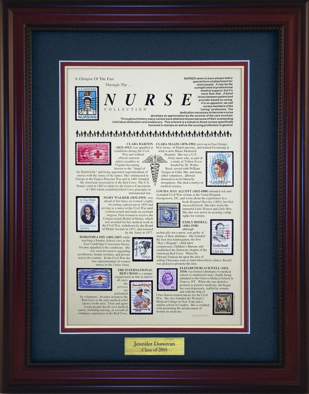 Nursing - Personalized Unique Framed Gift