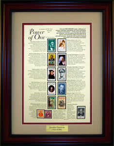 Power of One - Personalized Unique Framed Gift