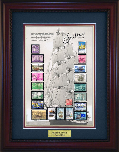 Sailing - Personalized Unique Framed Gift