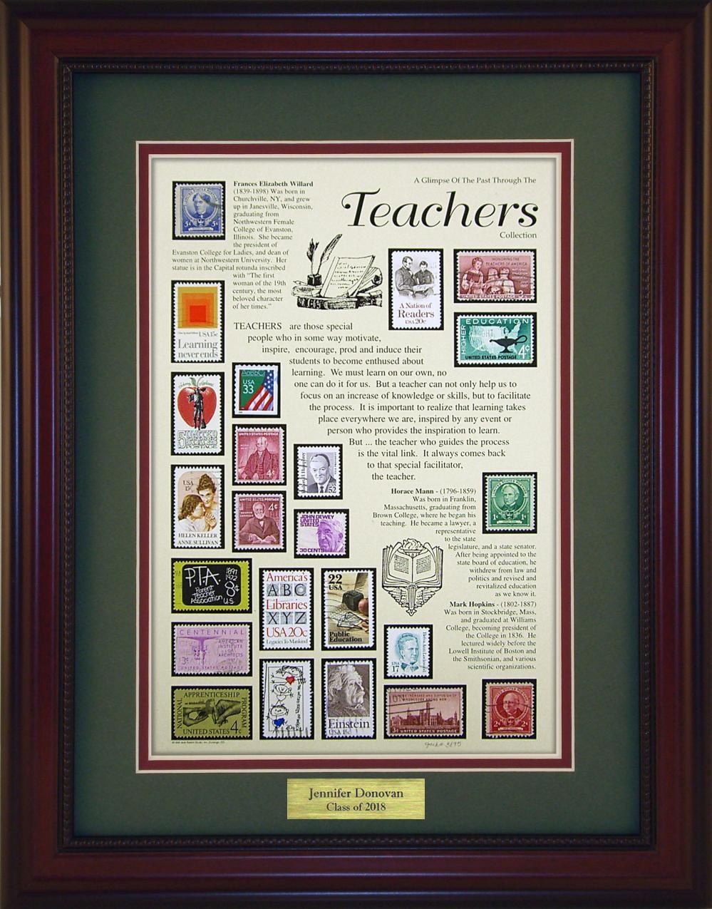 Teachers - Personalized Unique Framed Gift