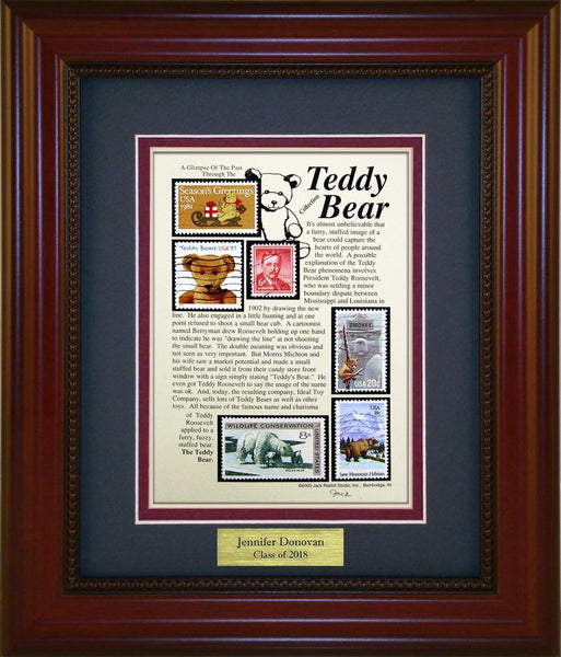 Teddy Bear - Personalized Unique Framed Gift