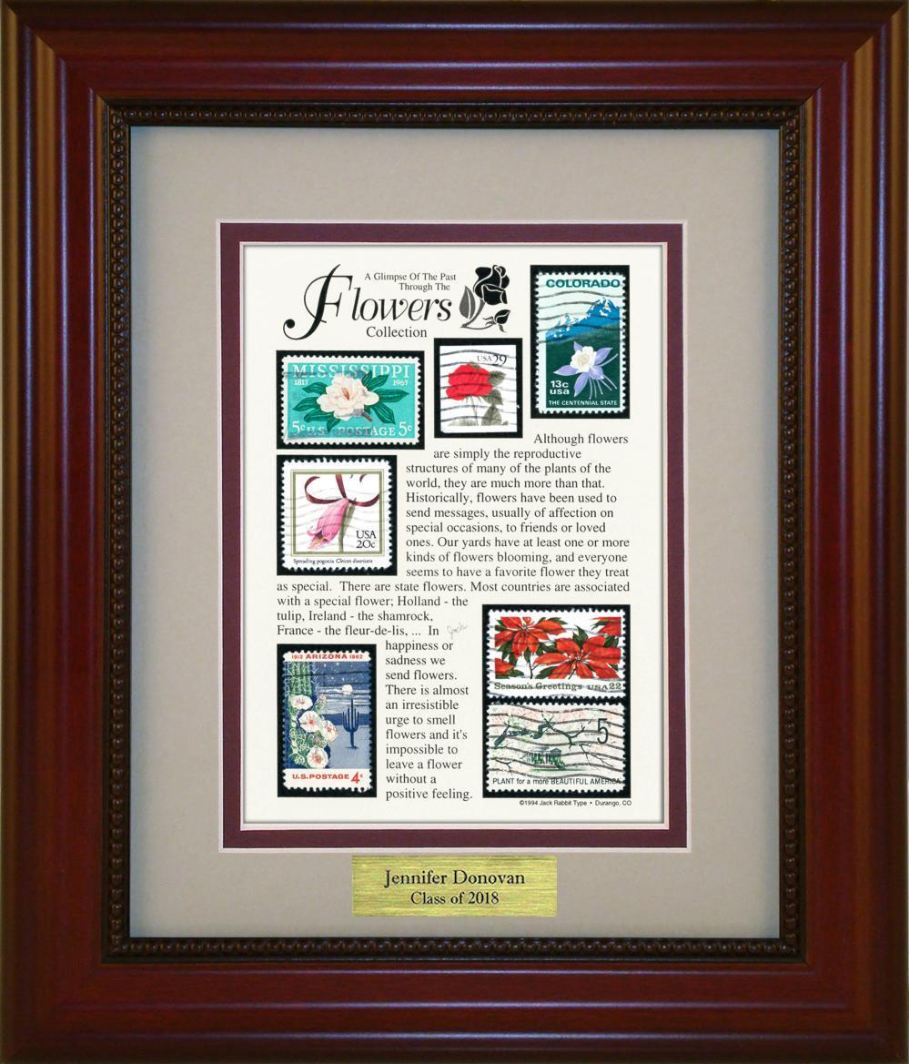 Flowers - Personalized Unique Framed Gift