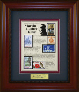 Martin Luther King, Jr.  - Personalized Unique Framed Gift