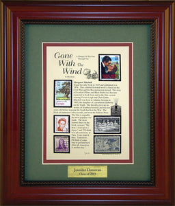 Gone with The Wind - Personalized Unique Framed Gift