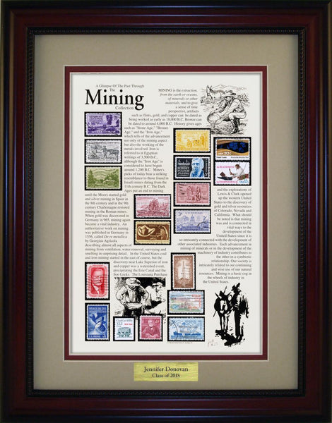 Mining - Personalized Unique Framed Gift