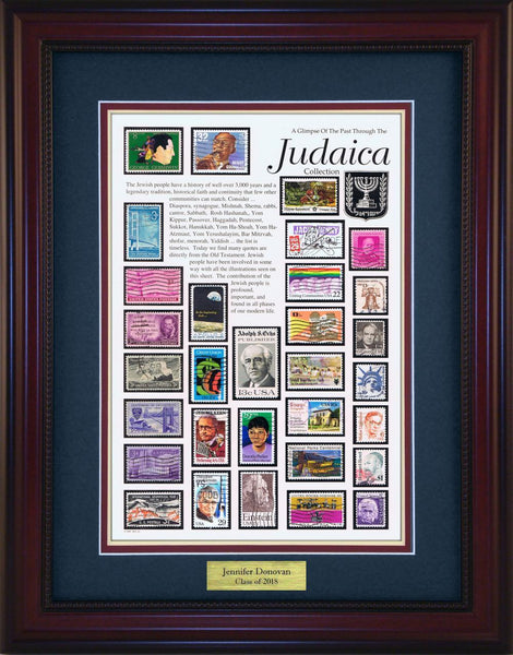 Judaica - Personalized Unique Framed Gift