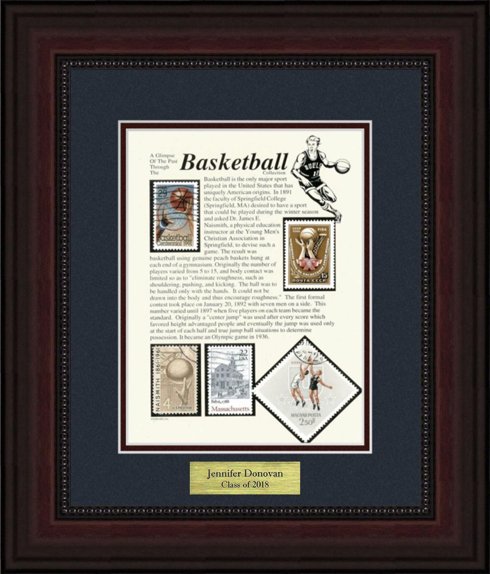 Basketball - Personalized Unique Framed Gift