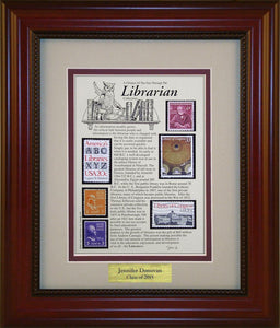 Librarian - Personalized Unique Framed Gift