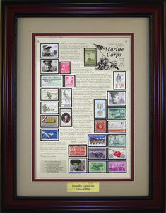 Marine Corps - Personalized Unique Framed Gift