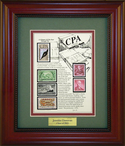 CPA - Personalized Unique Framed Gift