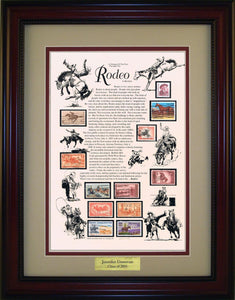 Rodeo - Personalized Unique Framed Gift
