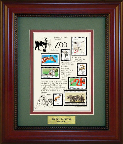 Zoo - Personalized Unique Framed Gift