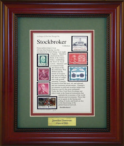 Stockbroker - Personalized Unique Framed Gift