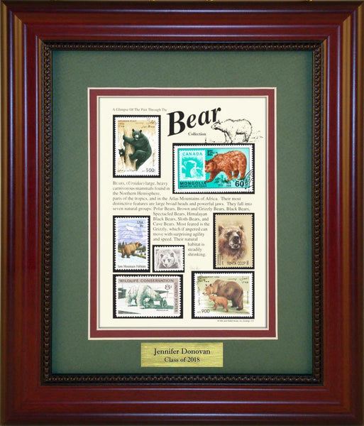 Bears - Personalized Unique Framed Gift