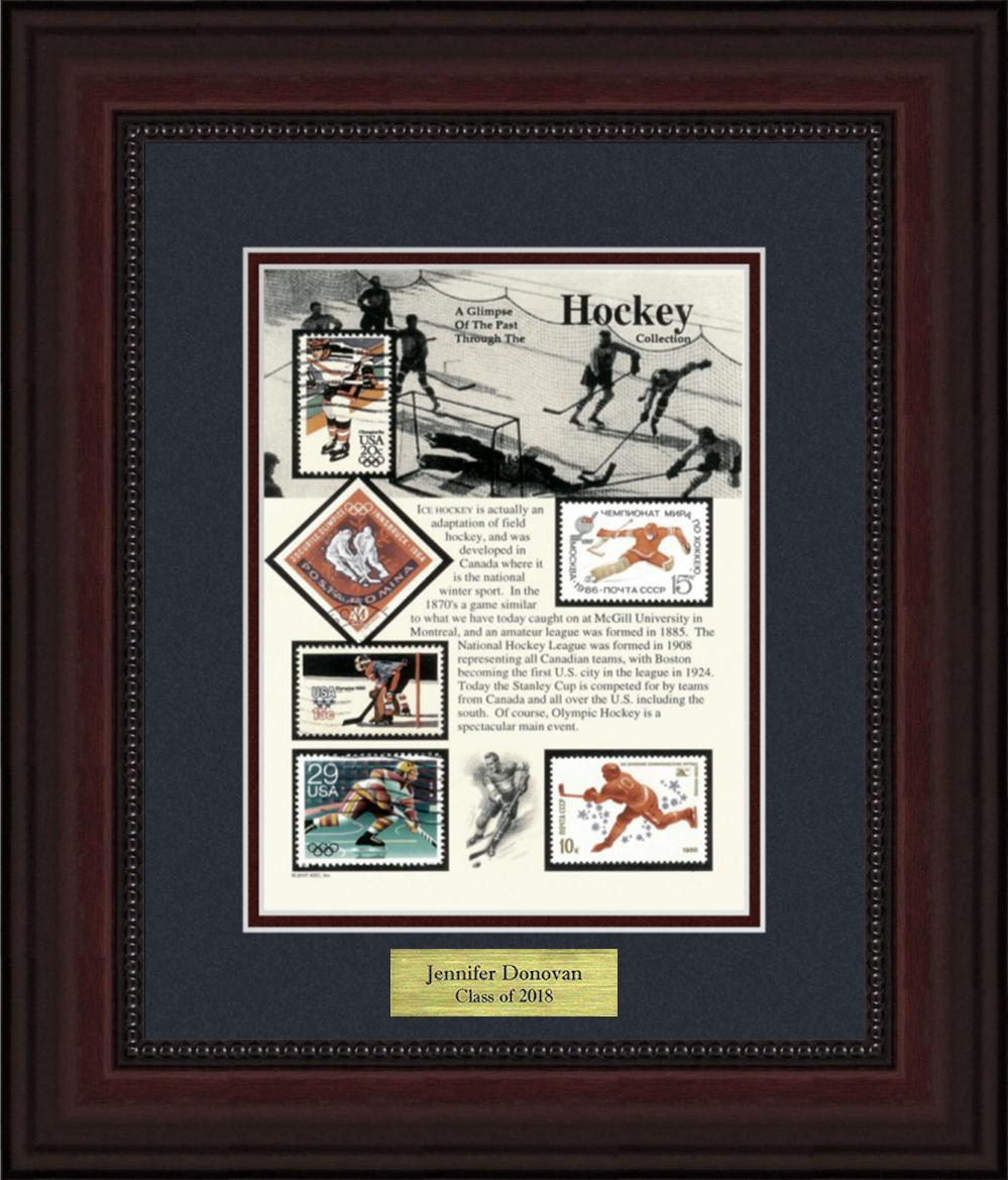 Hockey - Personalized Unique Framed Gift