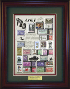 Army - Personalized Unique Framed Gift