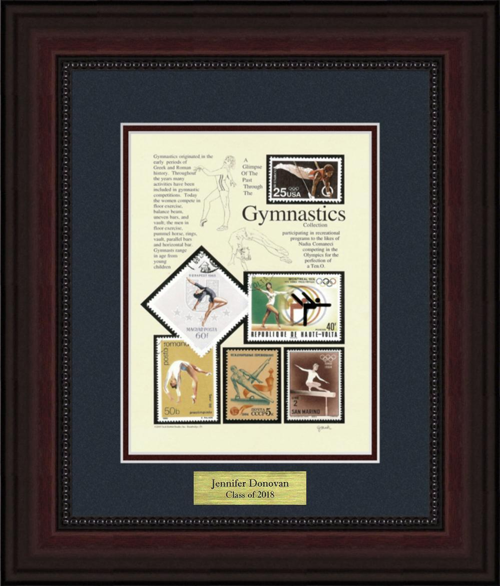 Gymnastics - Personalized Unique Framed Gift