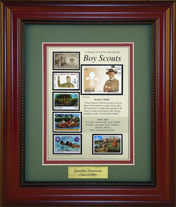 Boy Scouts - Personalized Unique Framed Gift