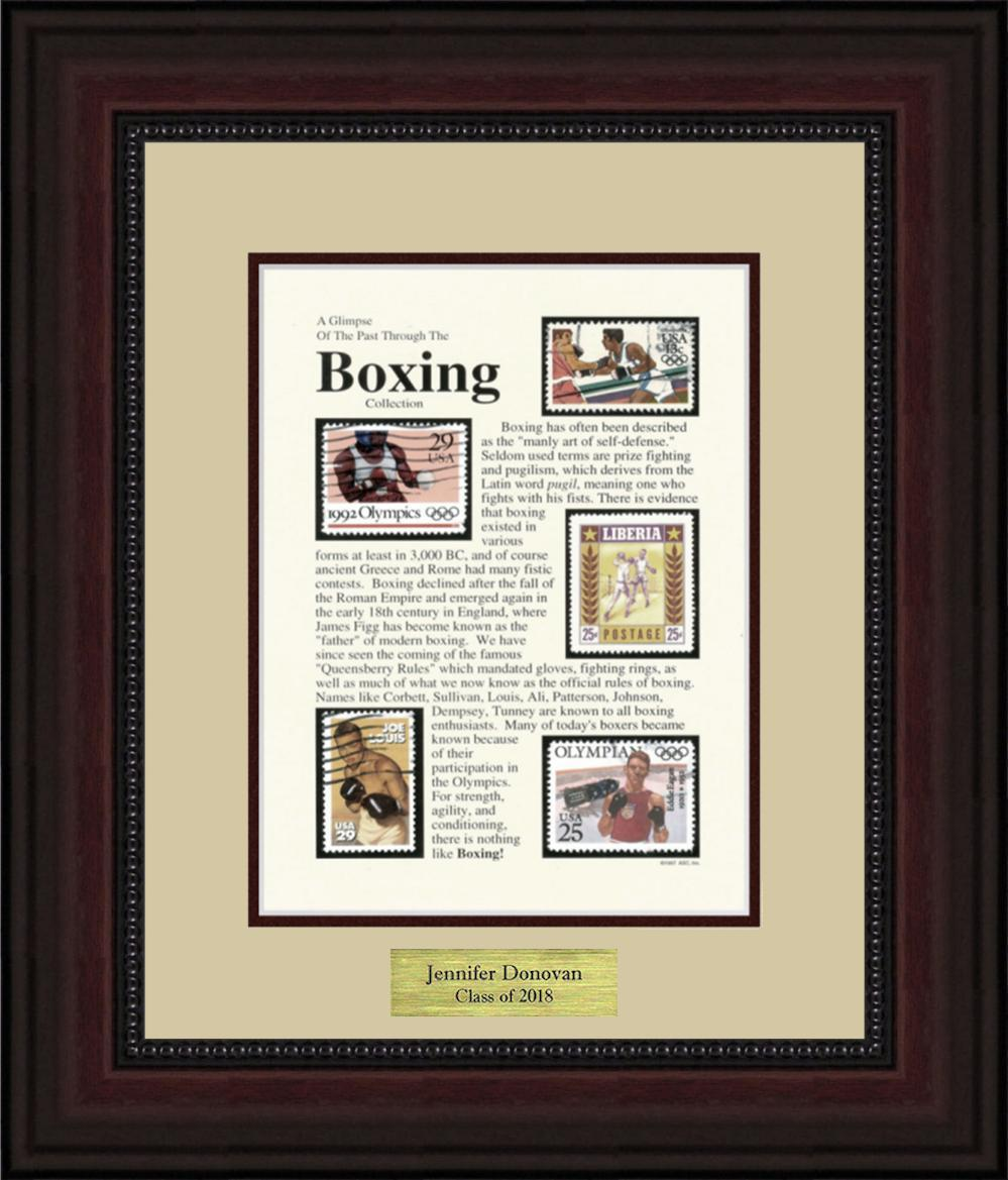 Boxing - Personalized Unique Framed Gift