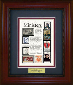 Minister - Personalized Unique Framed Gift