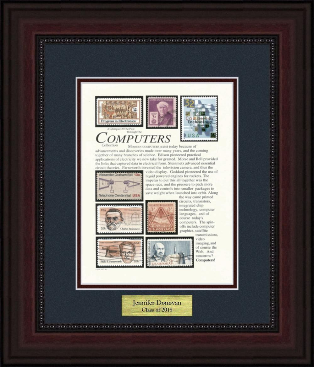 Computers - Personalized Unique Framed Gift